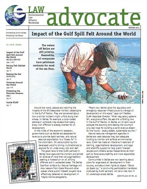 Summer, 2010: Impact of the Gulf Spill Felt Around the World