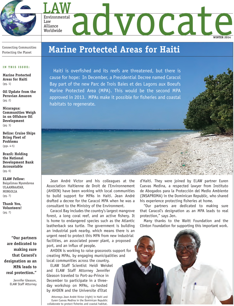 Marine Protected Areas for Haiti