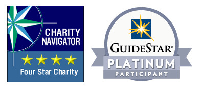 Charity Navigator Four Start Charity | Guidestar Platinum Participant